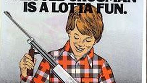 Las armas en EE.UU, un juego de niños