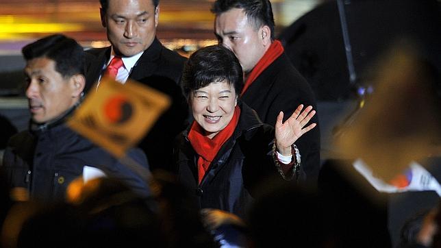 Corea del Sur elige a su primera presidenta, la conservadora Park