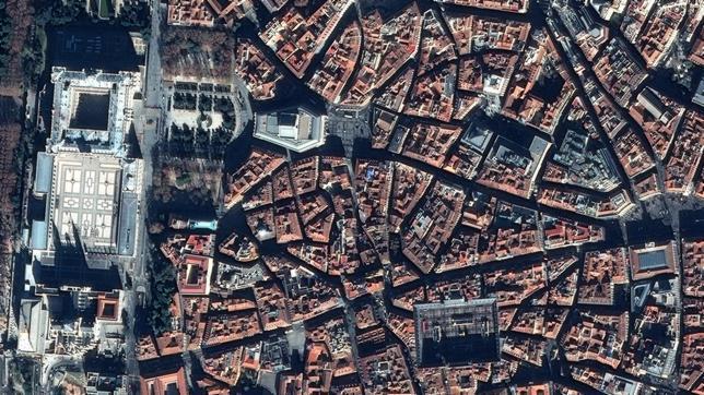 Madrid desde un satlite de observacin  ABCes
