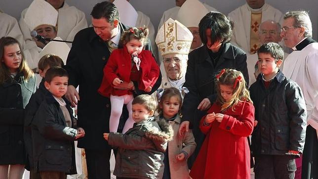 El cardenal Rouco confesará a las familias en los Jardines del Descubrimiento