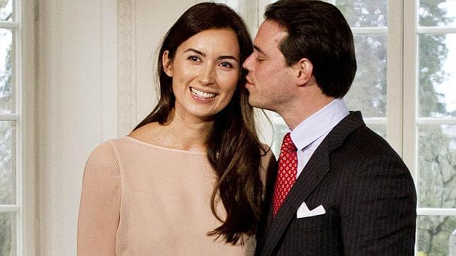 El príncipe Félix de Luxemburgo presenta oficialmente a su prometida, Claire Lademacher