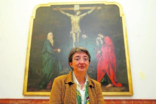 Fuensanta García de la Torre dice adiós al Museo de Bellas Artes