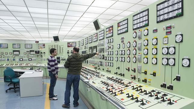 Sala de control de la central nuclear de garo a en la for Sala fundicion programacion