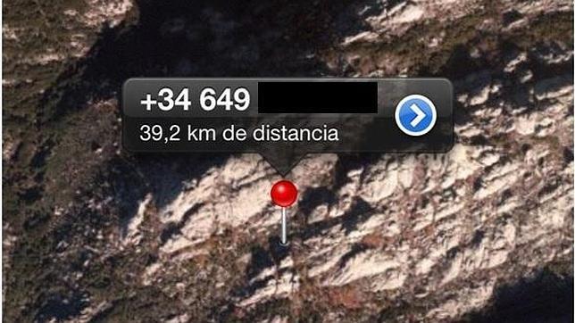 Whatsapp salva a cuatro montañeras en La Pedriza, con una precisión de diez metros