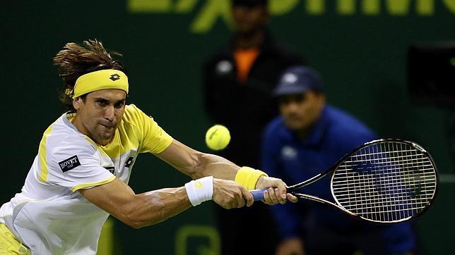 Ferrer rompe la pista en Doha