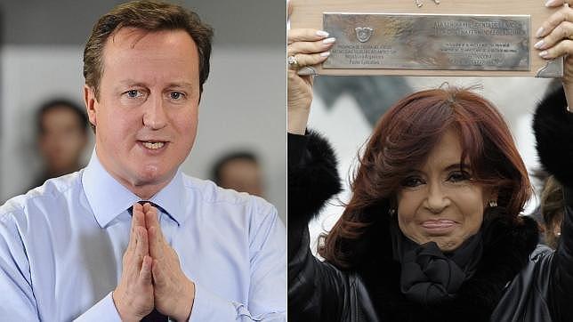 Cristina Fernández reclama por carta a Londres las Malvinas y Cameron dice «no»