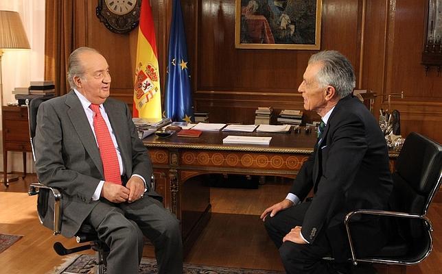 «Me gustaría que me recordaran como el Rey que ha unido a todos los españoles»