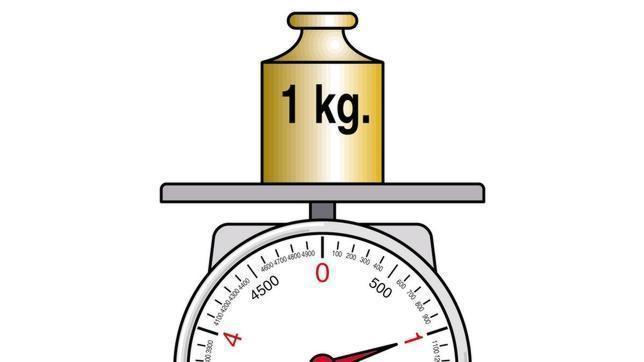 El kilo ha aumentado de peso