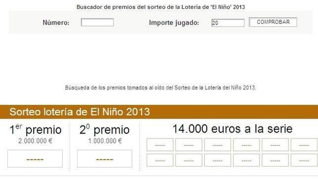 Lotería del Niño: Comprueba tu número en ABC.es y verifica si ha sido premiado