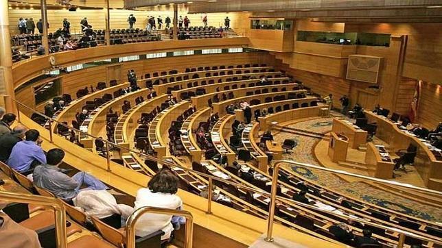 Interior del Senado español