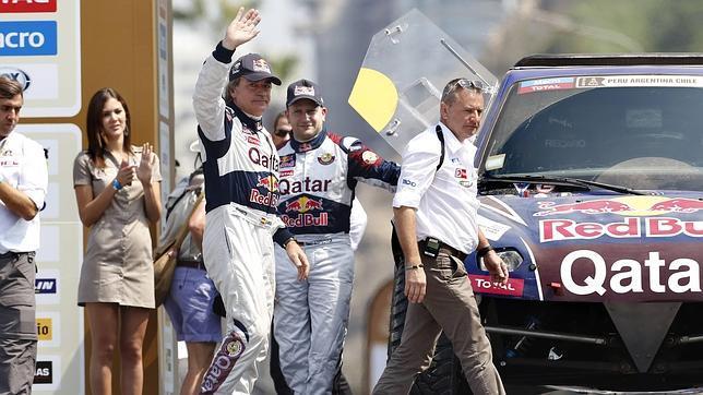 Carlos Sainz debuta con victoria