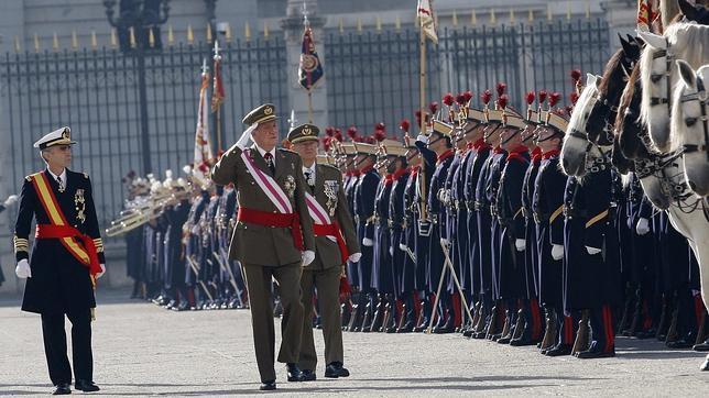 El Rey reaparece este domingo en público en la festividad de la Pascua Militar