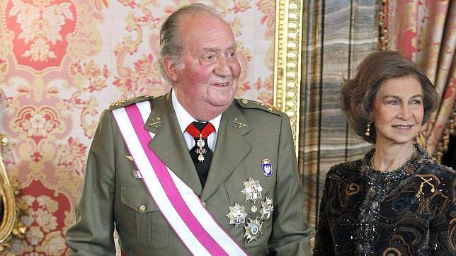 Don Juan Carlos: «Me encuentro divinamente»