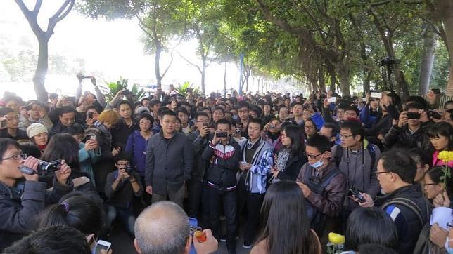Huelga en un semanario chino para protestar contra la censura