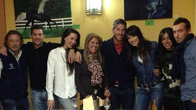 Sergio Ramos pasa los Reyes con Pilar Rubio