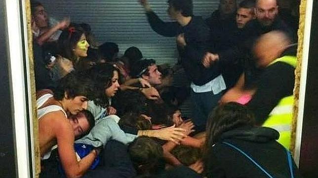 Madrid Arena: «¡Es una chavala muy joven! ¡Necesito otra UVI! ¡Otra! ¡Otra!