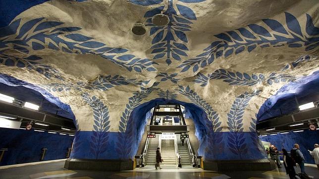 Las diez estaciones de Metro más espectaculares del mundo