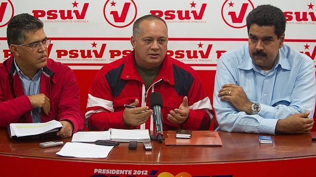 El PSUV llama a la movilización de los 'chavistas' el 10 de enero para contrarrestar un posible 'paro cívico'