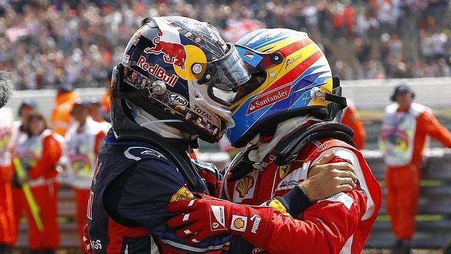 Gresca entre Fernando Alonso y el jefe de Red Bull