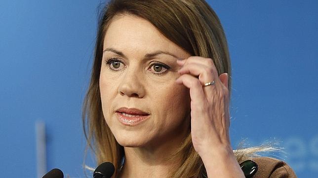 Cospedal acusa a Duran de «incoherencia y frivolidad» al no presentar su dimisión