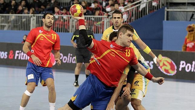 España recibe al mejor balonmano