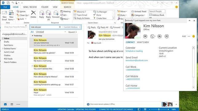 Skype lanza una nueva versión de escritorio con integración con Outlook