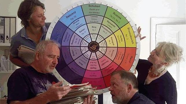 El Cuarteto Brodsky juega a la Ruleta de la Fortuna en los Teatros del Canal