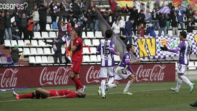 Óscar y Ebert dan una alegría al Valladolid