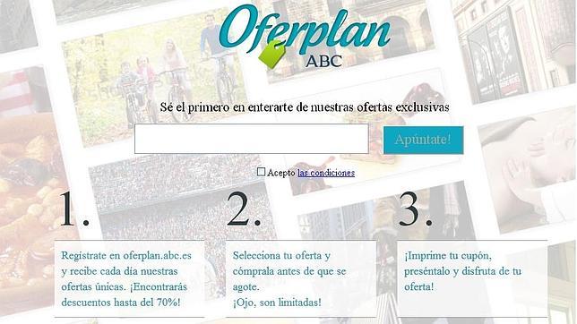 Oferplan, los mejores descuentos exclusivos cada día con ABC