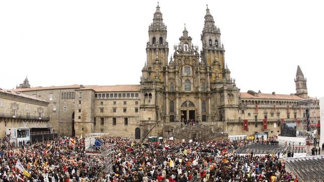 M s de 200 alicantinos peregrinan cada a o a santiago - La casa del libro santiago de compostela ...