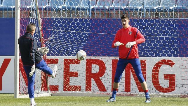 Courtois: «Para nuestros aficionados es importante estar delante del Madrid»