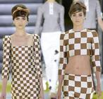 Llega la moda del vestido-ajedrez