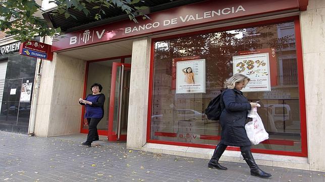 El banco de valencia cerrar nueve de cada diez oficinas for Oficinas banco sabadell valencia