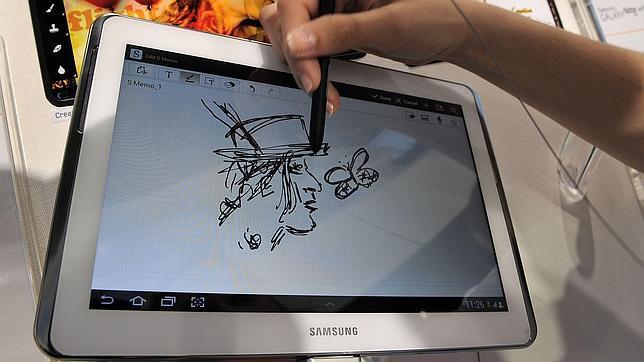 La Galaxy Note 10 presentada el año pasado