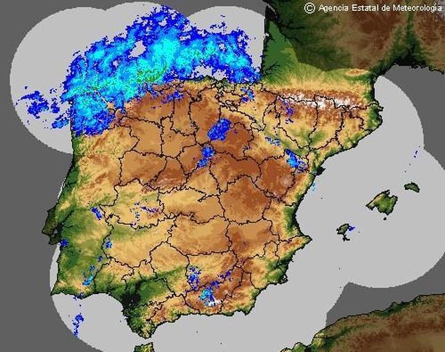 Ciclogénesis explosiva: vuelven las lluvias, la nieve y el frío durante el fin de semana