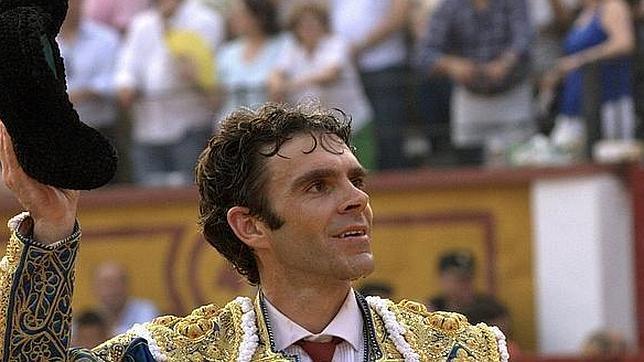 José Tomás, en la pasada Feria de San Juan de Badajoz