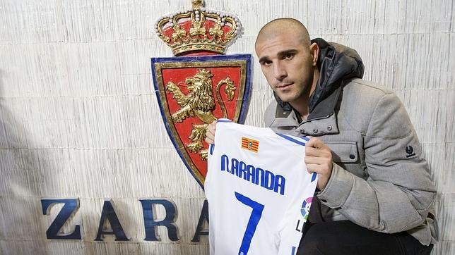 Aranda ha militado en el Zaragoza antes de fichar por el Granada