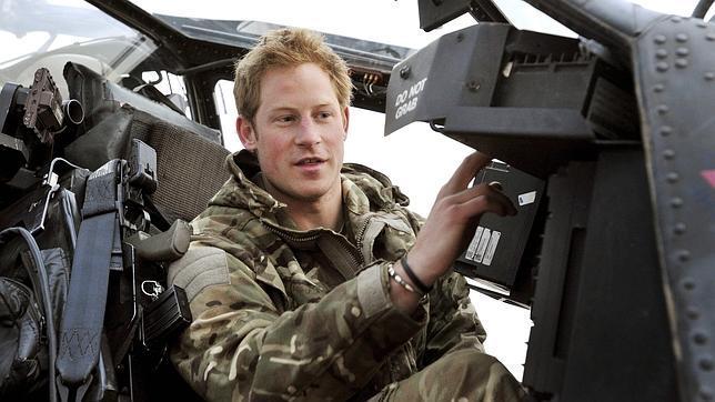 El príncipe Enrique admite haber matado a insurgentes talibanes en Afganistán