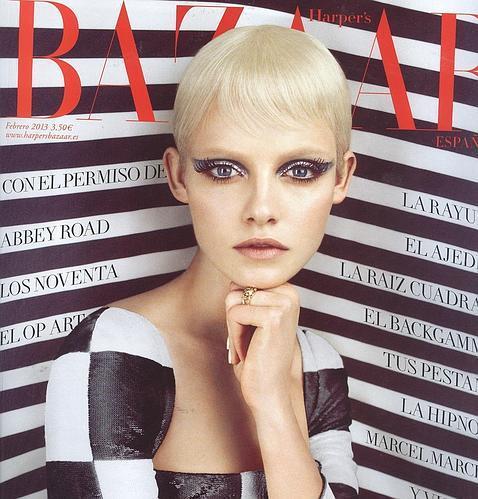 Las revistas visten febrero de blanco y negro