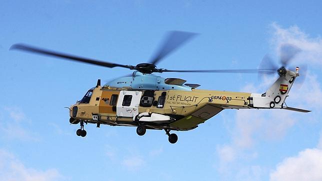 El NH90 ya vuela