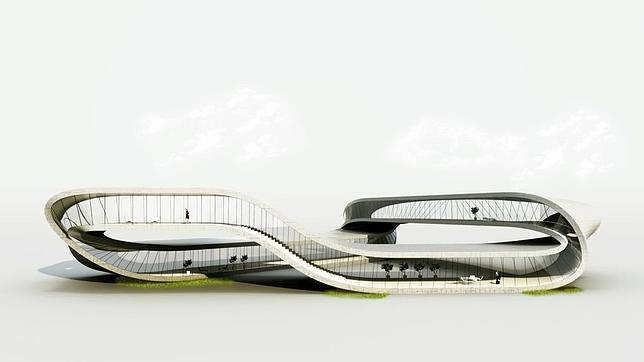 Un arquitecto quiere hacer edificios con una impresora 3D