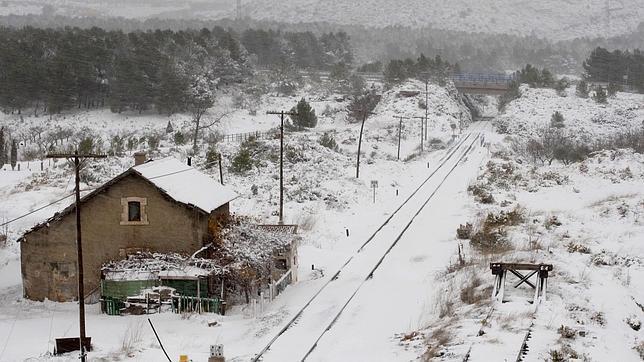 Alerta m xima por nevadas en el interior de castell n - Interior de castellon ...