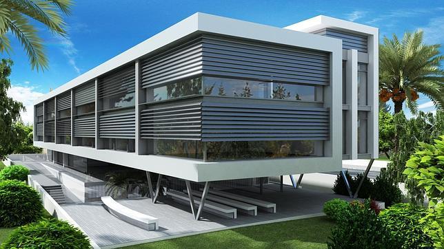 El colegio ngel de la guarda presenta su proyecto de for Plantas de colegios arquitectura