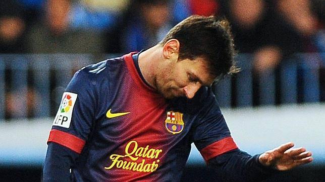 Messi, con molestias, no se entrena