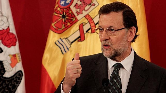 Mariano Rajoy durante su intervención en Chile