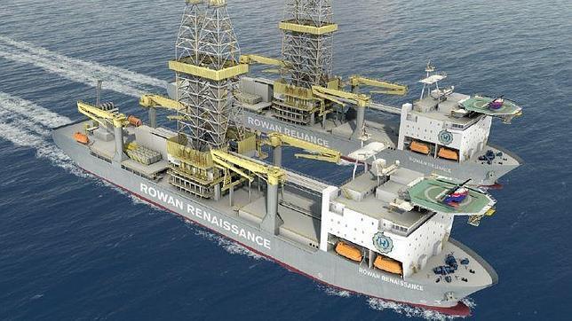 El barco para las prospecciones próximas a Canarias empleará hasta 210 trabajadores