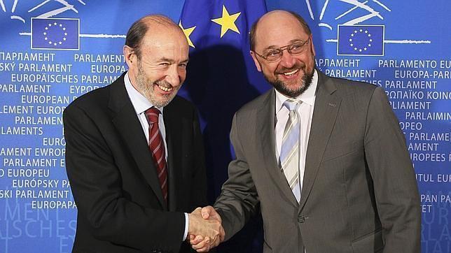El presidente de la Eurocámara se reunirá el lunes con Méndez de Vigo y Rubalcaba