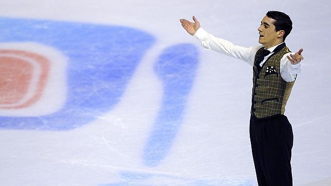 Javier Fernández, medalla de oro en los Europeos de Zagreb