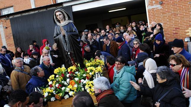 Funeral de Amparo Cuevas