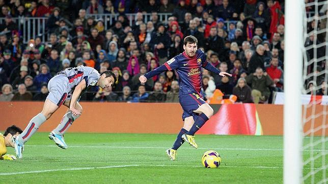 Messi con promedio de 0,85 en la liga española